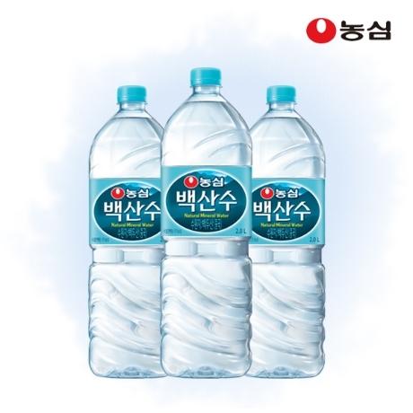 [농심] 백산수 2L x 12병 생수