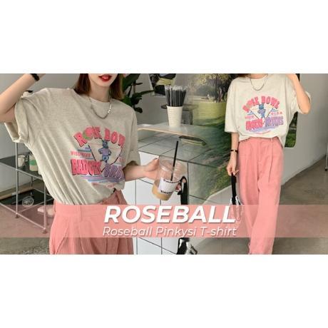 로즈볼 핑키시 티셔츠