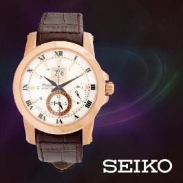 세이코 SEIKO 세이코 SNP096J 남성 가죽시계 (17953401228)