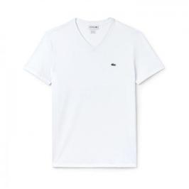 라코스테 브이넥 반팔티셔츠 TH6710 White