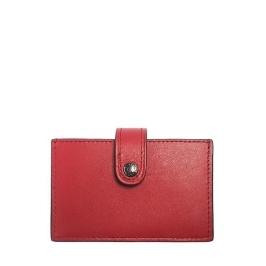 [COACH] F68393 아코디언 카드 케이스 - DARK RED