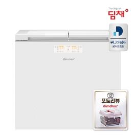 [딤채] ★ [야채용기증정(2104)] 전국무료배송 20년형 신제품 위니아 딤채 뚜껑형 김치냉장고 EDL22CFWOWS 221리터