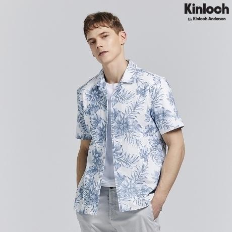 [킨록] 오픈카라 하와이안 반팔 셔츠 WH (CVI05S0M3)