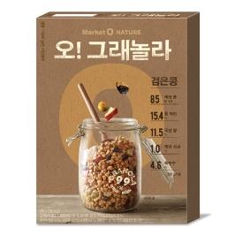 [원더배송] 오리온 마켓오네이처 검은콩그래놀라 330g 2개