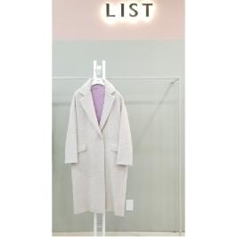 W몰 리스트 오버핏 알파카 코트 TWWCTH40080