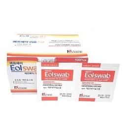 FA에프에이 알콜스왑(개별포장) 100매 5개/살균소독솜/피부소독