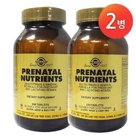 [솔가] [해외배송]2병 솔가 임산부용 종합비타민 프리네이탈 240정