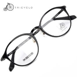[트리시클로] (현대Hmall)[공식본사정품] 트리시클로 TFS03 명품 뿔테 초경량 울템 안경테 TFS03-01(48) / TRICYCLO