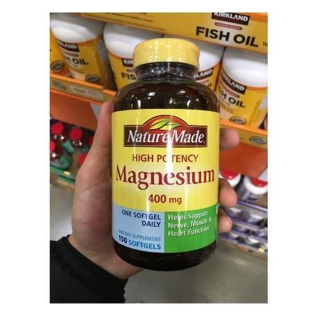 [해외배송] 네이쳐메이드 마그네슘 400mg 150정