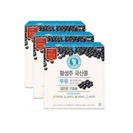 이롬 황성주 검은콩 고칼슘 두유 190ml X 48