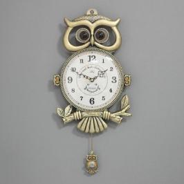 [바보사랑](khhl137)저소음 카이스트 부엉이 시계 (신주)