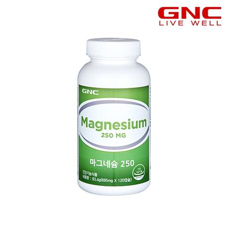 [지앤씨]GNC 마그네슘 250 120캡슐_ 4개월분(48415)