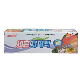 [싸고빠르다] 크린손 세븐지퍼팩 대- 20매 (25cmx30cm)
