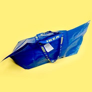 [싸고빠르다] FRAKTA 프락타 장바구니 L 블루 71L (이케아 정품)
