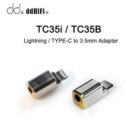 [해외] dd ddHiFi TC35i / TC35B Lightning / TYPE-C-3.5mm 케이블 어댑/3248552