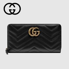 [구찌] [해외배송] 구찌 GG 마몬트 가죽 장지갑