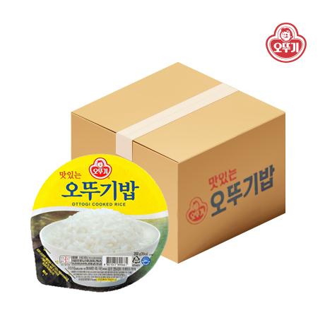 맛있는 오뚜기밥 210g X 24개/즉석밥/햇반