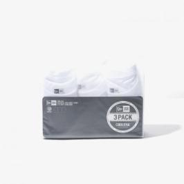 [엔터식스]뉴에라 무지 에센셜 반팔 티셔츠 3팩 화이트11929734