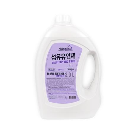 ★[무궁화]바른세제연구소 섬유유연제(라벤더) 3L