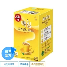 [비즈특가] 동서 맥심 모카골드 커피믹스 1020T (170T x 6)