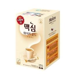 [원더배송] 동서 맥심 화이트골드 커피믹스 1020T (170T x 6)