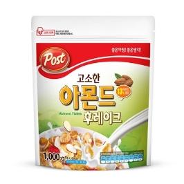 [원더배송] 동서식품 포스트 고소한 아몬드 후레이크 1kg