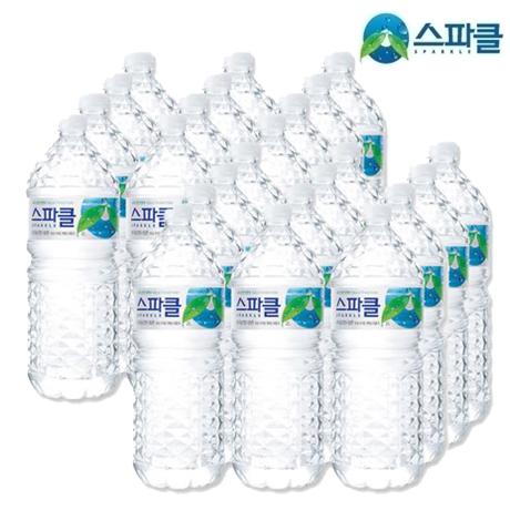 [감염제로]스파클 생수 2L X 24펫