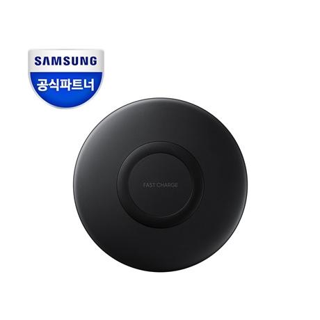 공식인증점 삼성 2018 급속 무선충전기 충전패드 블랙/EP-P1100