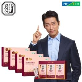 홍삼정스틱액티브_10ml*30포_4세트+쇼핑백증정