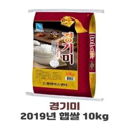 드림라이스 19년햅쌀 당일도정 경기미 10kg