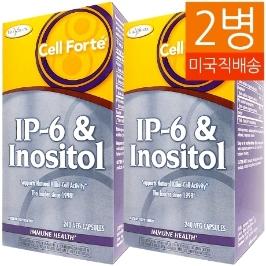 [해외배송] 2병 엔지매틱 테라피 IP-6 이노시톨 800mg/220mg 240베지캡