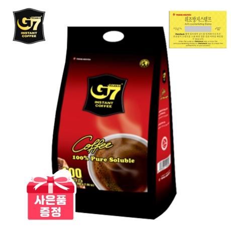 G7 G7커피 블랙커피 2g x 100개입 수출용 (100T+3T) 베트남커피  수입커피