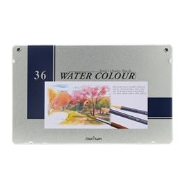 문화KPI 36색 수채화 색연필 틴케이스 수채 색연필