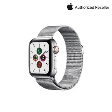 Apple 애플워치 5 40mm GPS+셀룰러 스테인리스 케이스 + 밀레니즈 루프