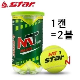 스타 테니스공 메이저 투어 시합구 TB162 1캔=2볼