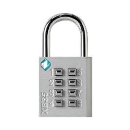 [싸고빠르다] 열쇠 분실 걱정없는 버튼형 자물쇠(숫자8자리) / 아연&철 끊어질 걱정NO!