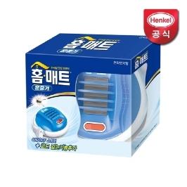 [77특가] 홈매트 코드롤러 모기 훈증기+홈키파 모기향 10매