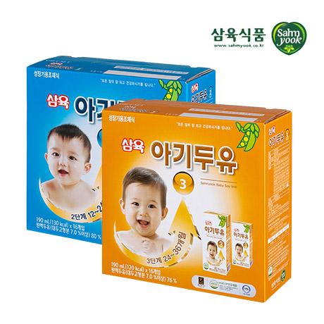 [삼육식품] ♥삼육 아기두유 빅스 2~3단계 32팩