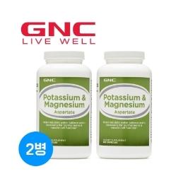 [지앤씨] 무료배송 GNC 칼륨 포타슘 & 마그네슘 240정 1+1(총2병)