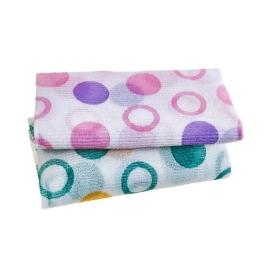 [싸고빠르다] 거품 잘나오는 버블나염샤워타월  28×95cm (핑크/그린 색상랜덤)