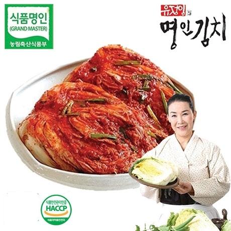 식품명인 유정임의 프리미엄 포기김치 10kg