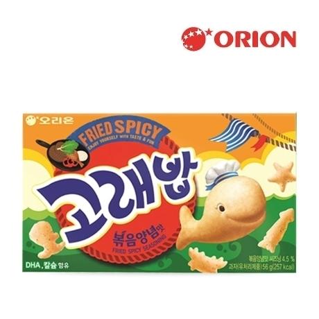 [오리온] 고래밥 볶음양념맛 40g