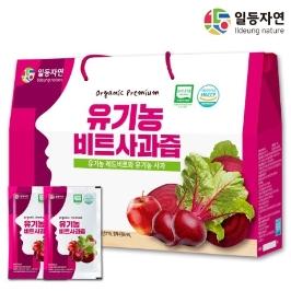 [더싸다특가] [대구백화점]유기농 비트사과즙 30포, 1박스