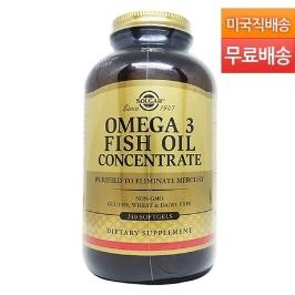 [솔가] [해외배송]솔가 오메가3 Omega-3 Fish Oil 240젤