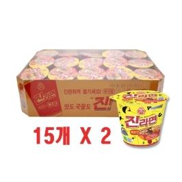 [오뚜기] 진라면 매운맛 소컵라면 30개입(65g)