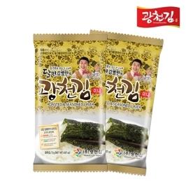 [싸고빠르다] 달인 김병만의 광천김 미니 도시락김 2g 10봉
