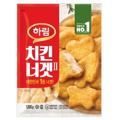 [하림] 하림 치킨너겟2 1kg