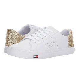 타미힐피거 여성 Lune 신발 White Gold
