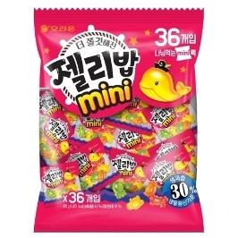 [원더배송] 오리온 젤리밥 미니 576g 36P