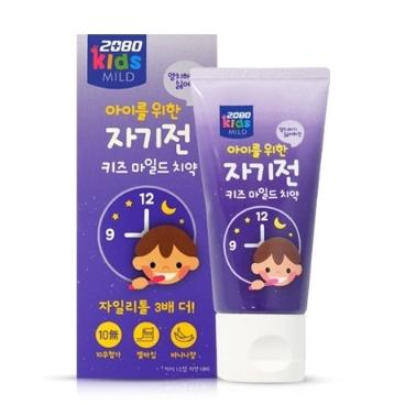 2080 자기전 키즈마일드치약 60g (3세이상)  /  유아 어린이 치약